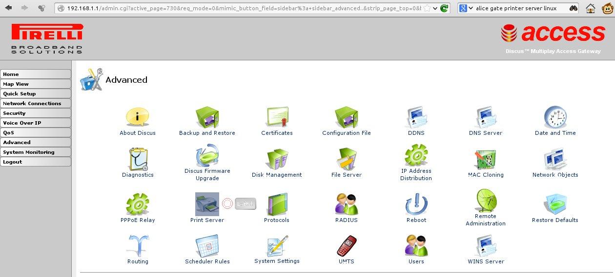 ALICE GATE usb printer linux kubuntu hp officejet | NoWarTools